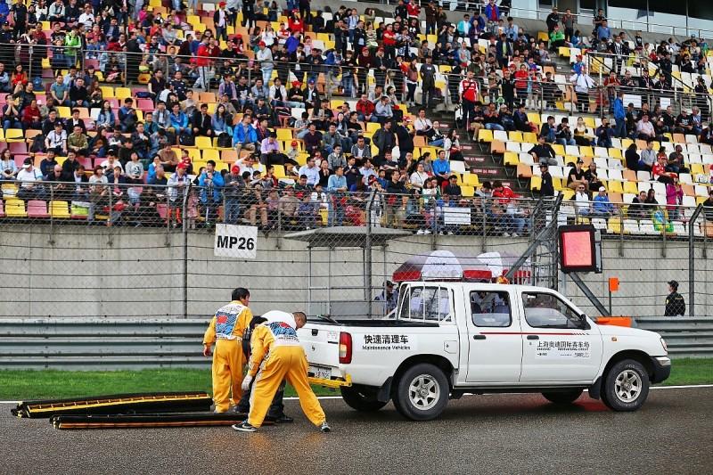 China pitlane vehicle incident 'low key but unacceptable' - FIA