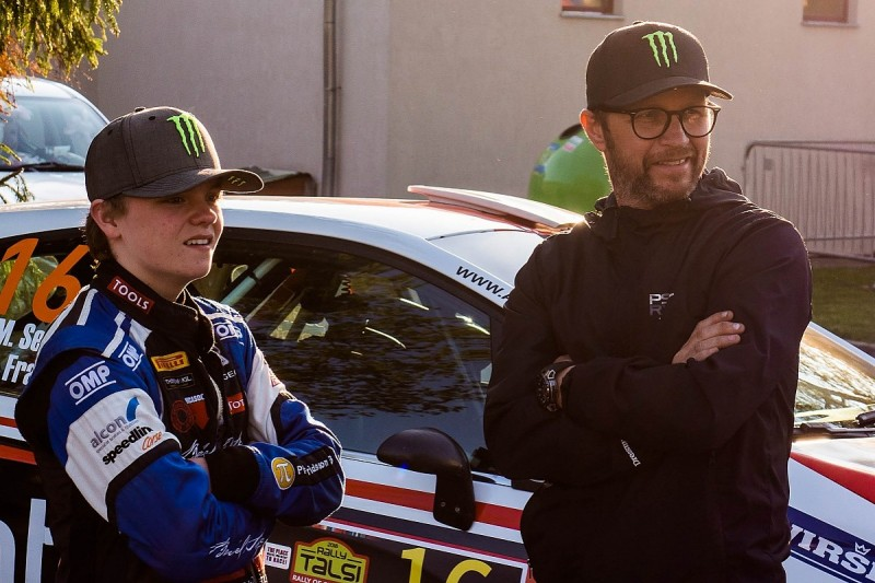 Petter and Oliver Solberg team up for WRC's Wales Rally GB