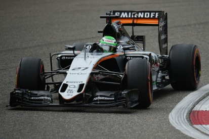 Force India's Hulkenberg gets Chinese GP wheel loss grid penalty