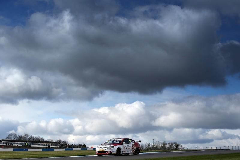 MG's Josh Cook sets Donington Park BTCC practice pace