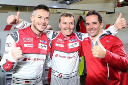 Audi ends Porsche's WEC pole streak at wet Silverstone