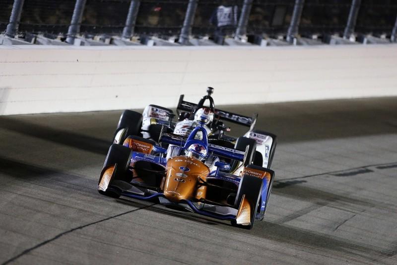 "Chip Ganassi's Dixon confused by ""bizarre"" Iowa Indycar handling"