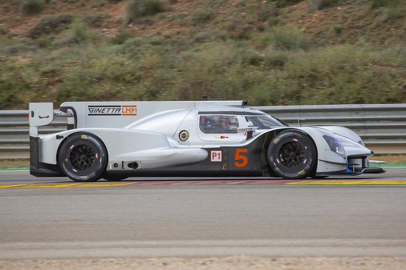 F2's Luca Ghiotto one of six to drive Ginetta LMP1 car in WEC test