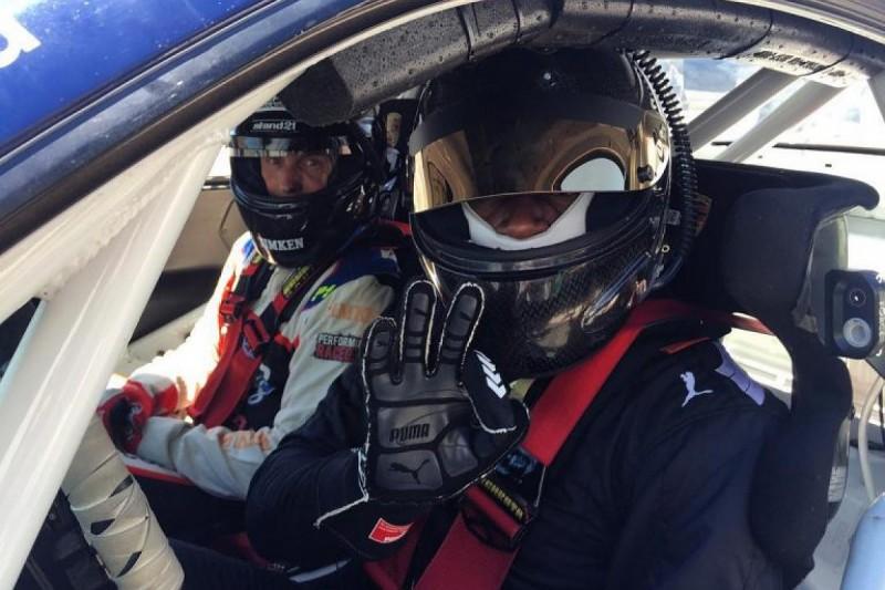 Olympic legend Usain Bolt tests Australian Porsche Carrera Cup car