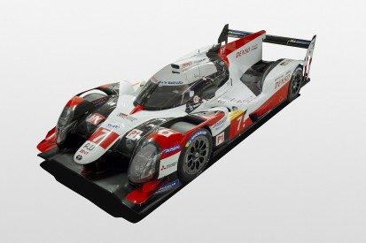 Front-end changes for Toyota's WEC LMP1 car for 2019/20