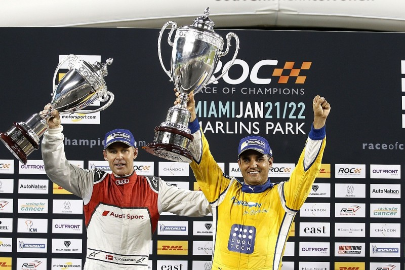 First drivers and date announced for 2018 Race of Champions