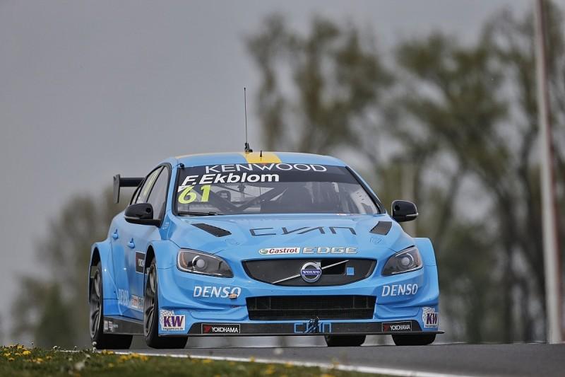 Volvo's Ekblom and Lada's Catsburg lead Slovakia WTCC practice