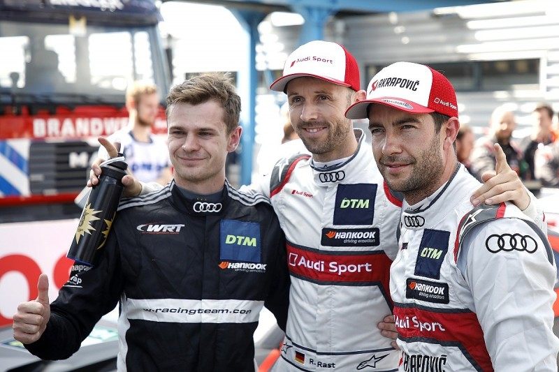 Race two DTM pole for Audi's Rast at Assen, Wittmann has nightmare
