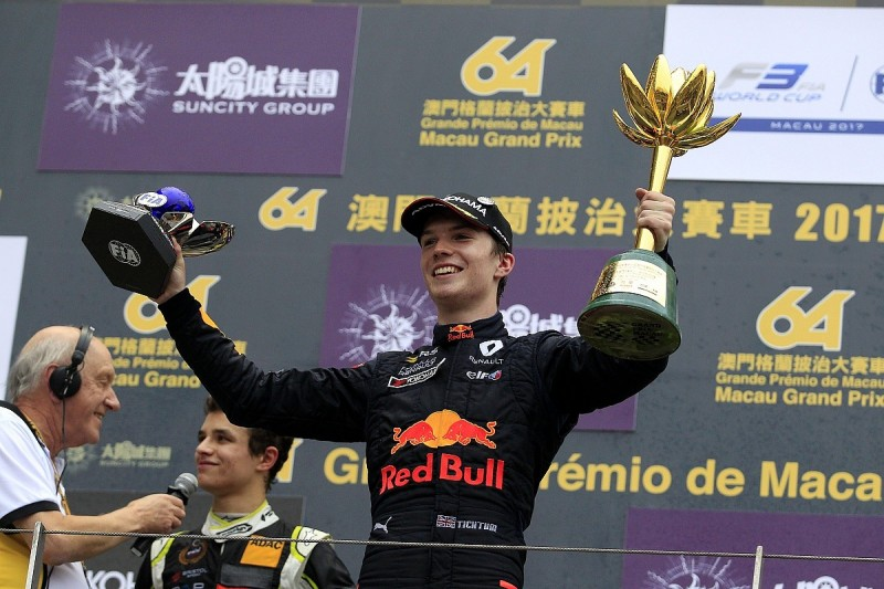 Macau GP winner Ticktum: Only Red Bull would have taken chance on me