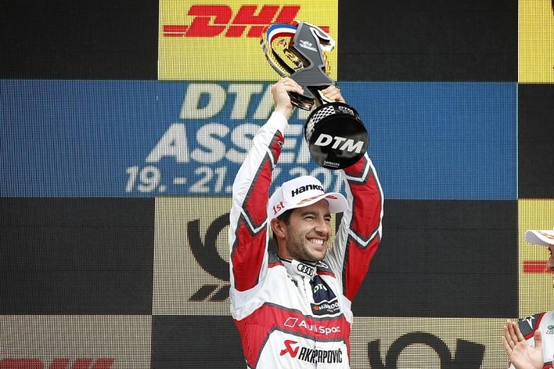 Rockenfeller wins dramatic Assen DTM finale, Rast hits tyre trouble