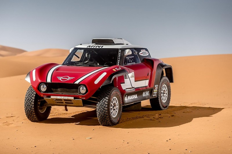 X-raid reveals new buggy Mini for 2018 Dakar Rally