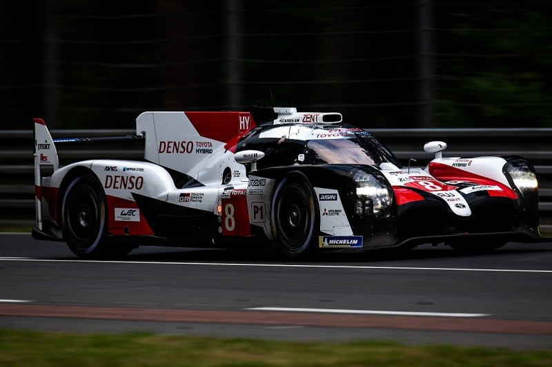 Toyota given further weight penalty for 2019/20 WEC pre-season test