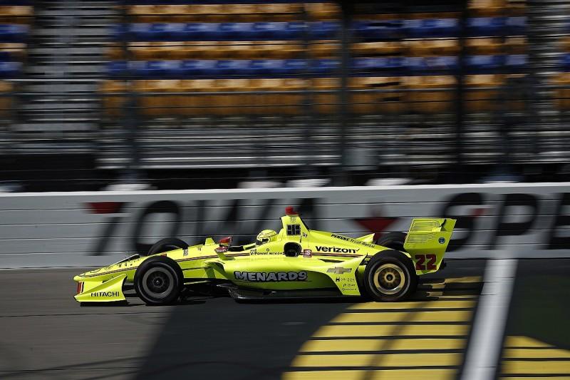 Indy 500 winner Pagenaud takes Iowa pole for Penske ahead of Power