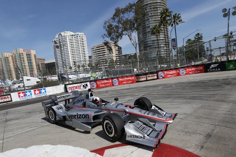 Juan Pablo Montoya tops first Long Beach IndyCar practice