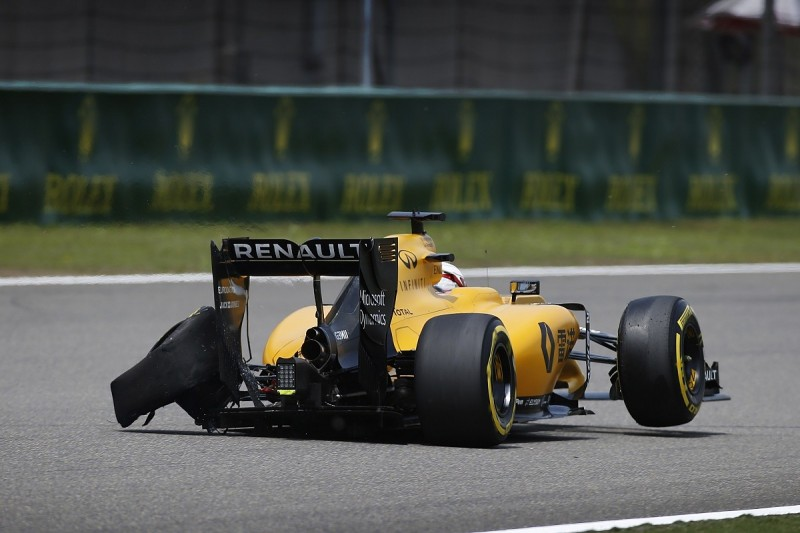 Kevin Magnussen's Chinese GP practice drama was suspension failure