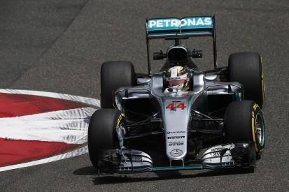 Hamilton feels Mercedes is chasing Ferrari in Chinese GP