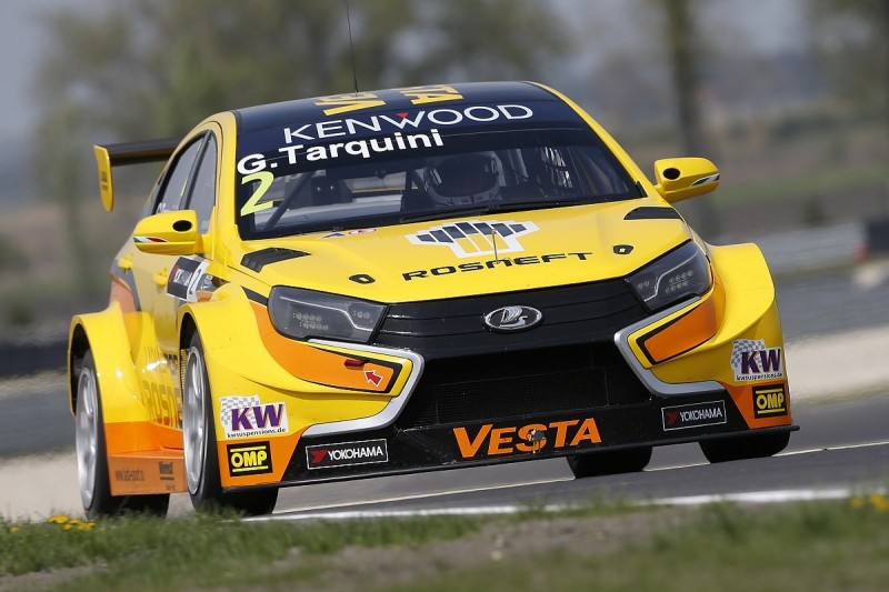 Slovakia Ring WTCC: Lada's Gabriele Tarquini sets testing pace