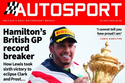 July 18 issue of Autosport magazine delayed until Friday