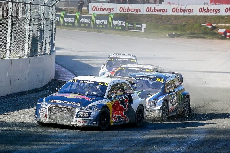 Mattias Ekstrom hopes of continuing Audi World RX programme rise