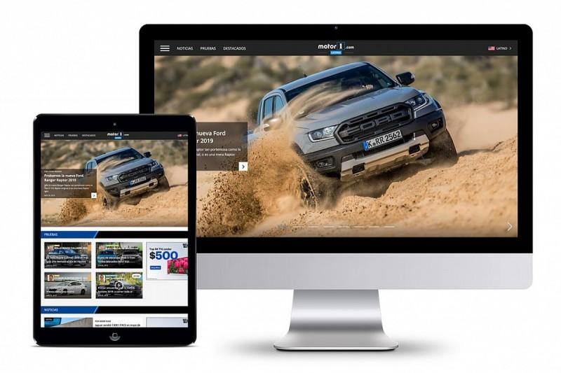 Motorsport Network launches Motor1.com Latino