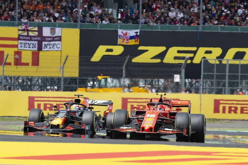 """Leclerc: Verstappen Silverstone battle """"most fun I've had in F1"""""""