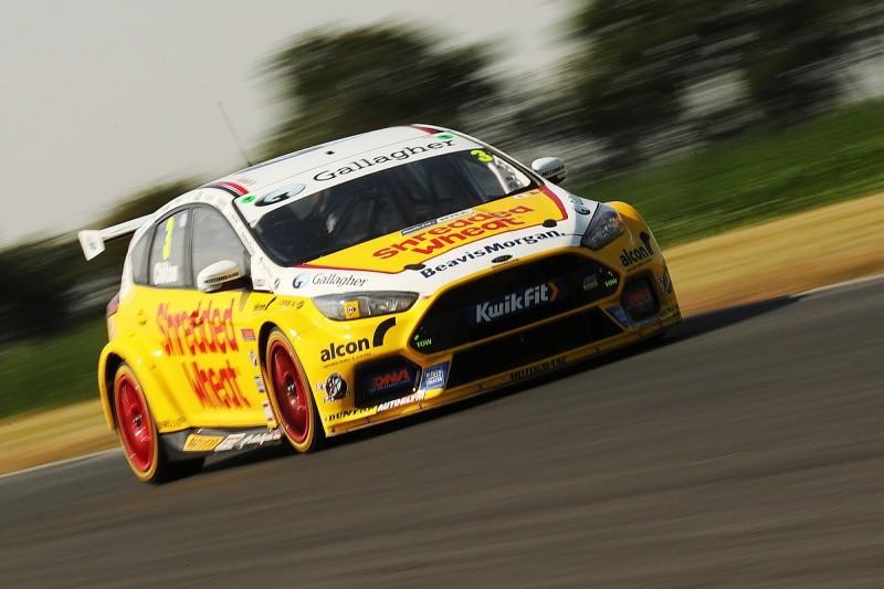Chilton fastest for Motorbase on final day of BTCC tyre test