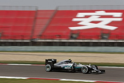 Nico Rosberg fastest as failures disrupt Chinese GP practice