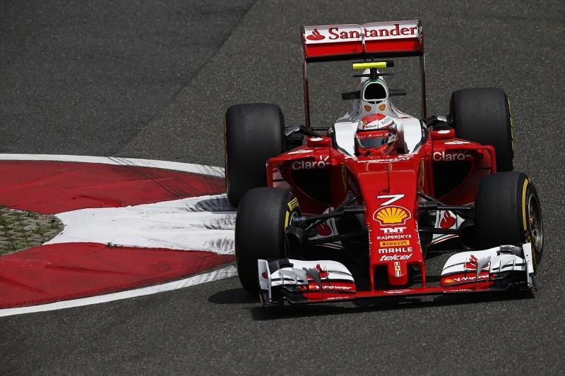 Kimi Raikkonen leads Ferrari one-two in Chinese GP Friday practice