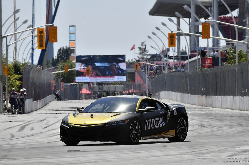 """Wickens driving again is """"best therapy"""" after IndyCar pace laps"""