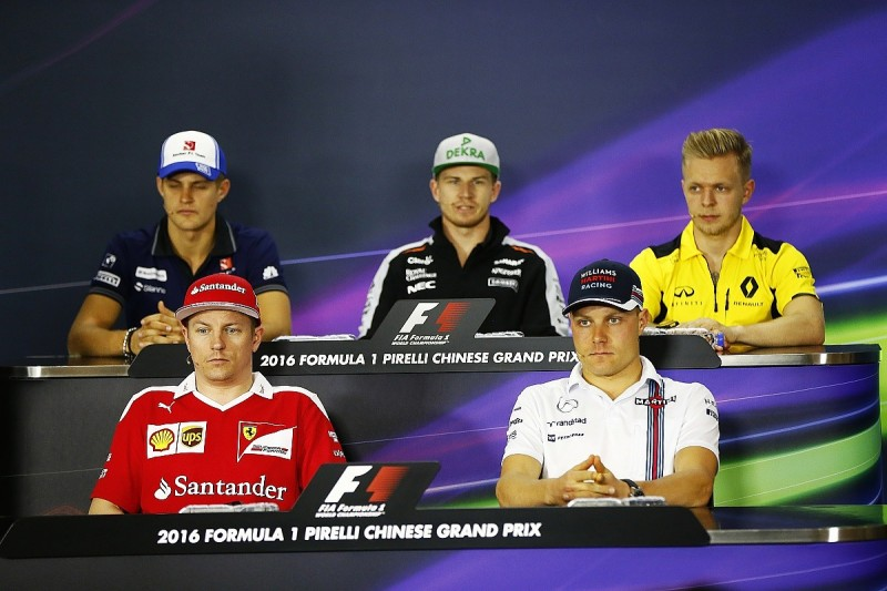 Chinese Grand Prix Thursday FIA Formula 1 press conference