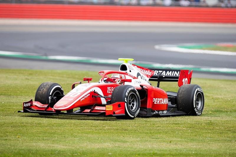 F2's Michel regrets Gelael's last-minute Silverstone penalty change