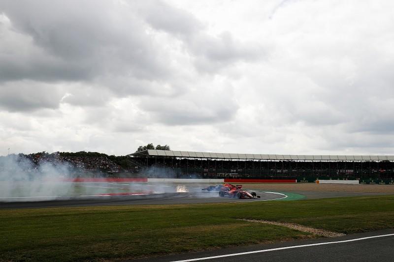 """Vettel hoped to """"sneak back"""" past Verstappen before Silverstone crash"""