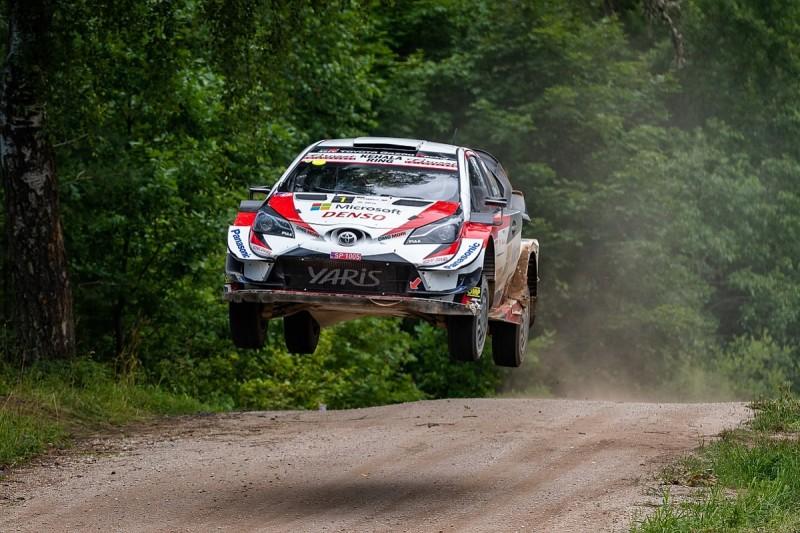 Rally Estonia winner Tanak deliberately chose adverse starting spot