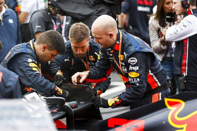 Red Bull's British GP grid drama was cracked F1 rear-wing endplates