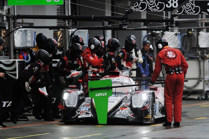 World Endurance Championship pitstop rules revamp planned for 2018