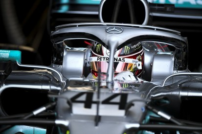 """Mercedes' Hamilton chases """"imaginary"""" F1 rival to avoid complacency"""