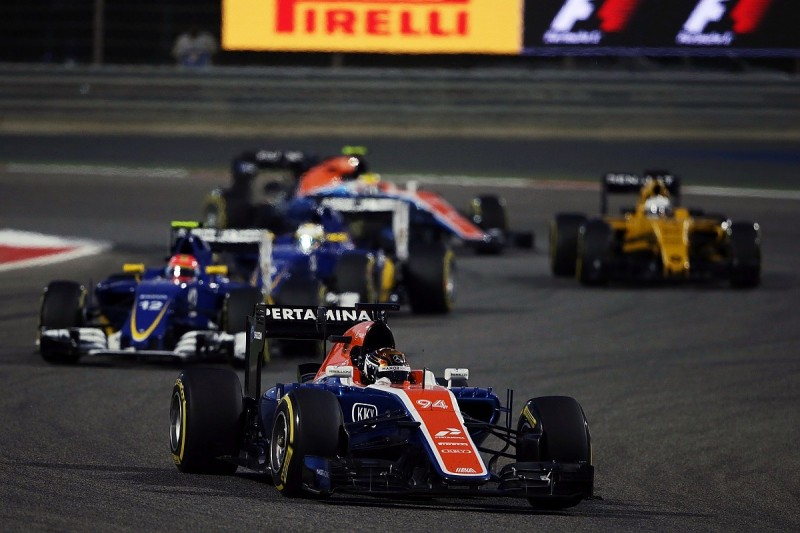 Manor F1 team now 'actually competing' with rivals for first time