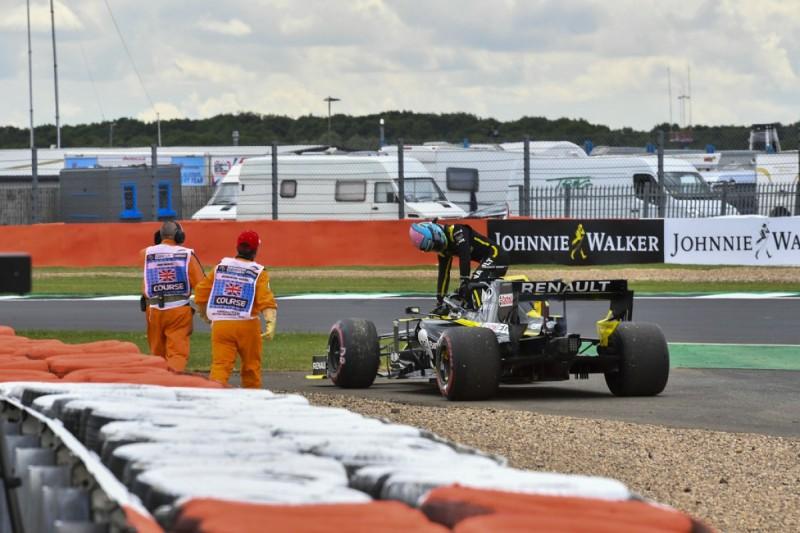 Ricciardo's failed engine was an older Renault unit