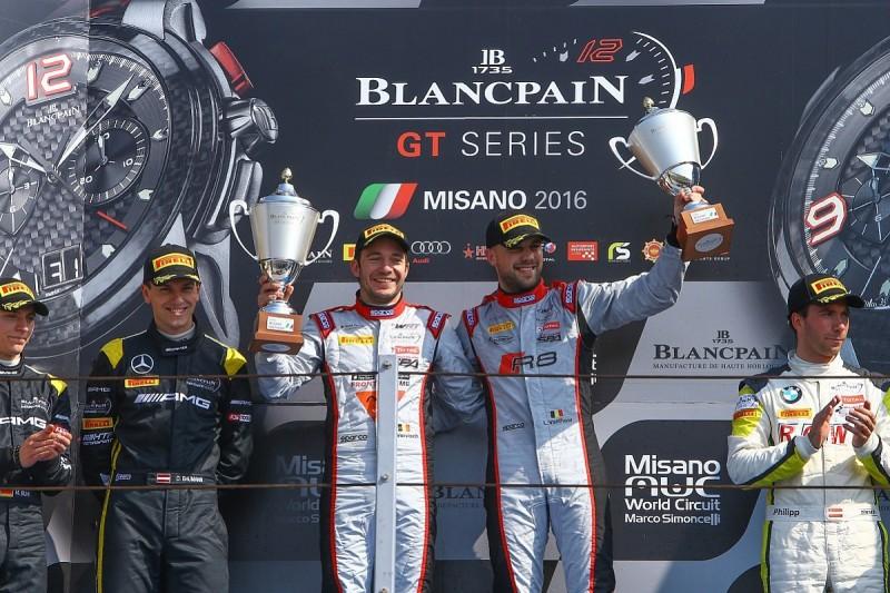 WRT Audi resists HTP Mercedes for Misano Blancpain GT Sprint win