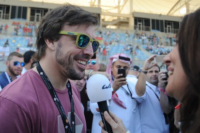 Fernando Alonso will take part in Bahrain WEC test with Toyota