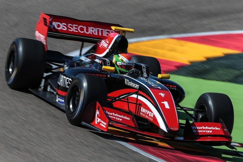 Louis Deletraz on top on final pre-season Formula V8 3.5 test day