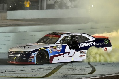 Rookie Byron wins NASCAR Xfinity title ahead of Cup graduation