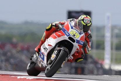 Iannone's Austin MotoGP podium the 'minimum' to repay Ducati