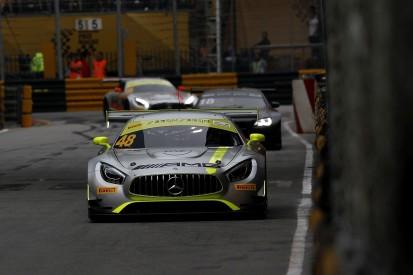 Macau FIA GT World Cup: Mortara beats charging Frijns and Engel to win