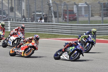 Yamaha's Lorenzo slowed by braking issue in Austin MotoGP race