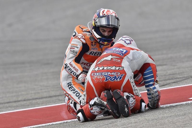 Pedrosa apologises to Dovizioso for Austin MotoGP mistake