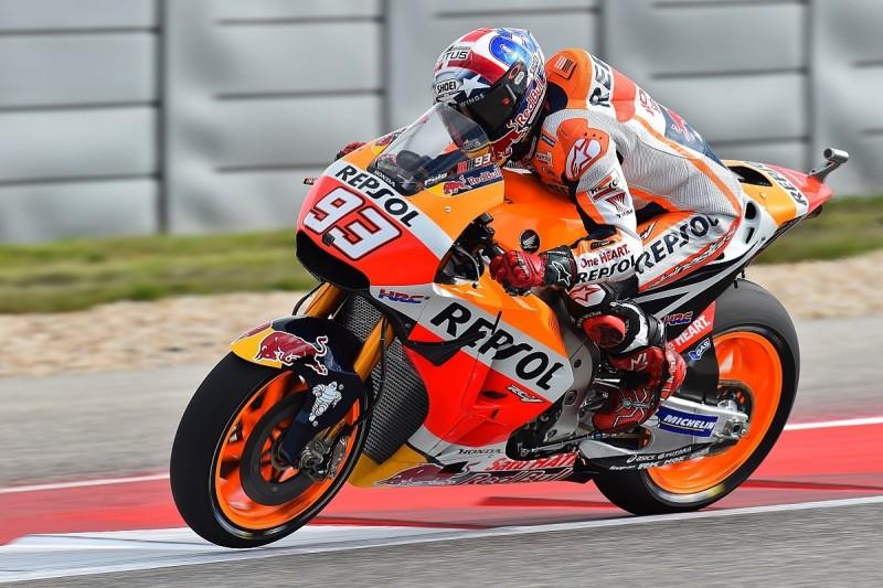 Marc Marquez continues to top Austin MotoGP practice for Honda