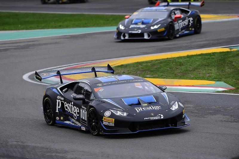 Lamborghini World Finals: Agostini takes Pro pole in Super Trofeo