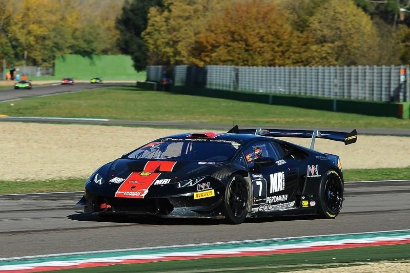 Lamborghini World Finals: Race two Pro pole for Rik Breukers