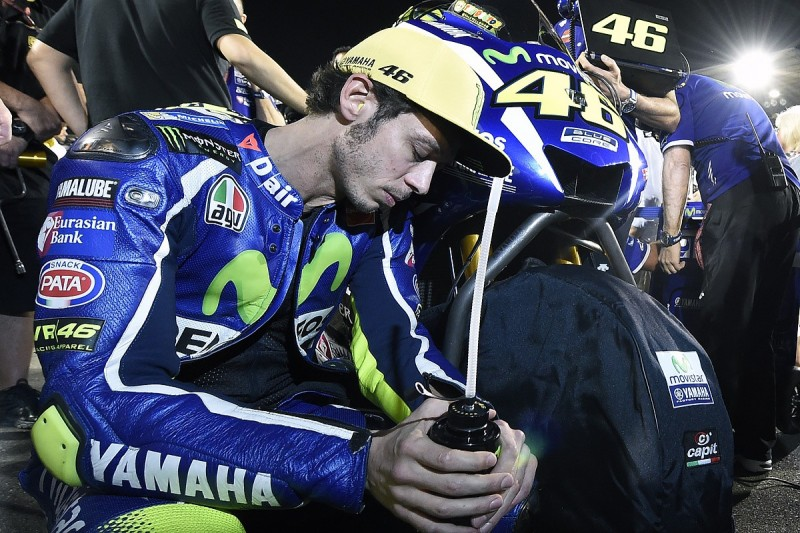 Valentino Rossi's VR46 team not targeting place on 2017 MotoGP grid